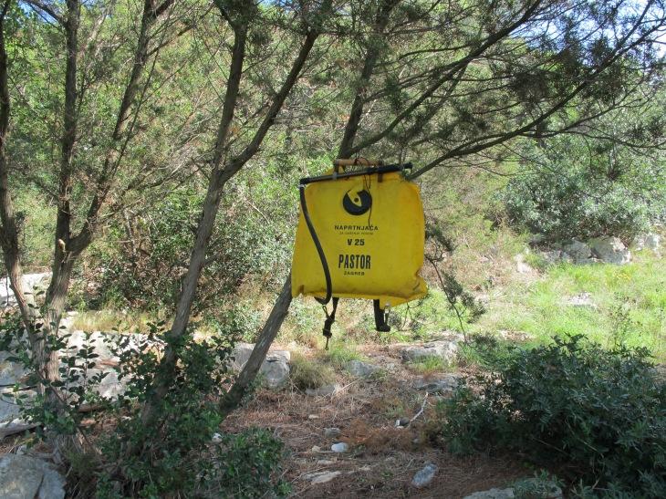 Was es mit diesen gelben Tüten aufsich hatte, konnten wir leider nicht herausfinden.